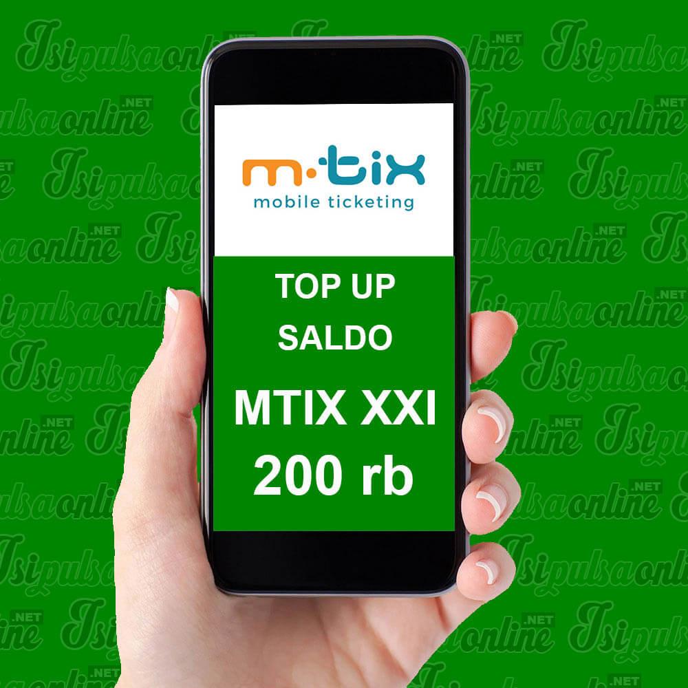 EMONEY SALDO MTIX XXI - SALDO MTIX 200K