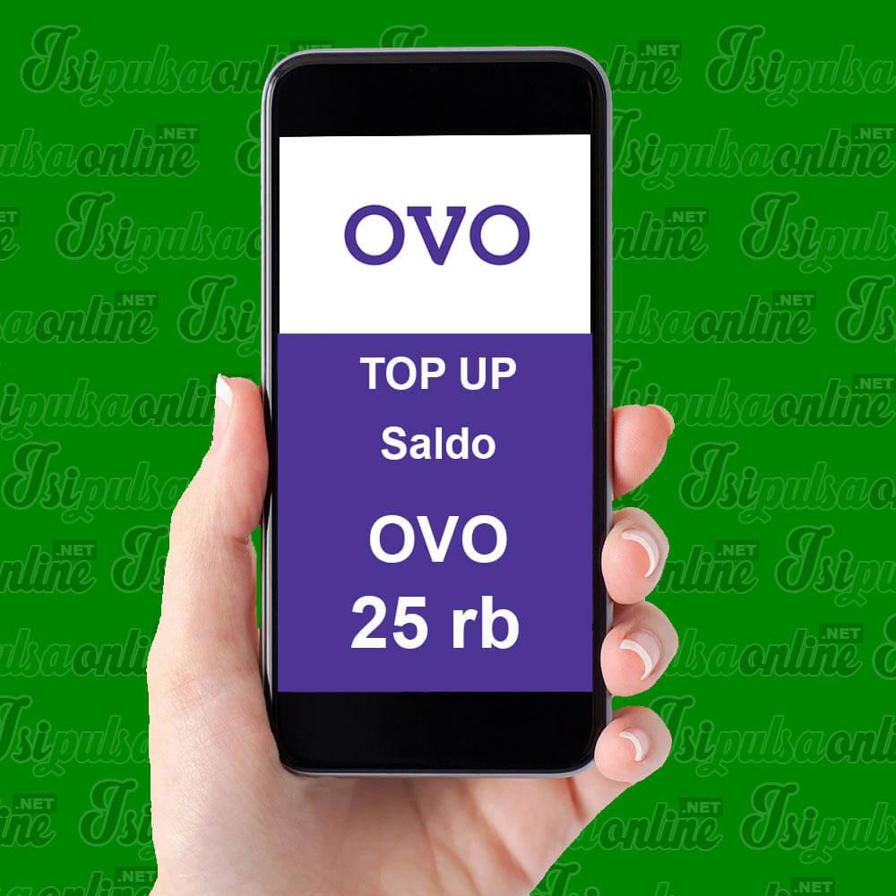 EWALLET TOPUP OVO - SALDO OVO 25K