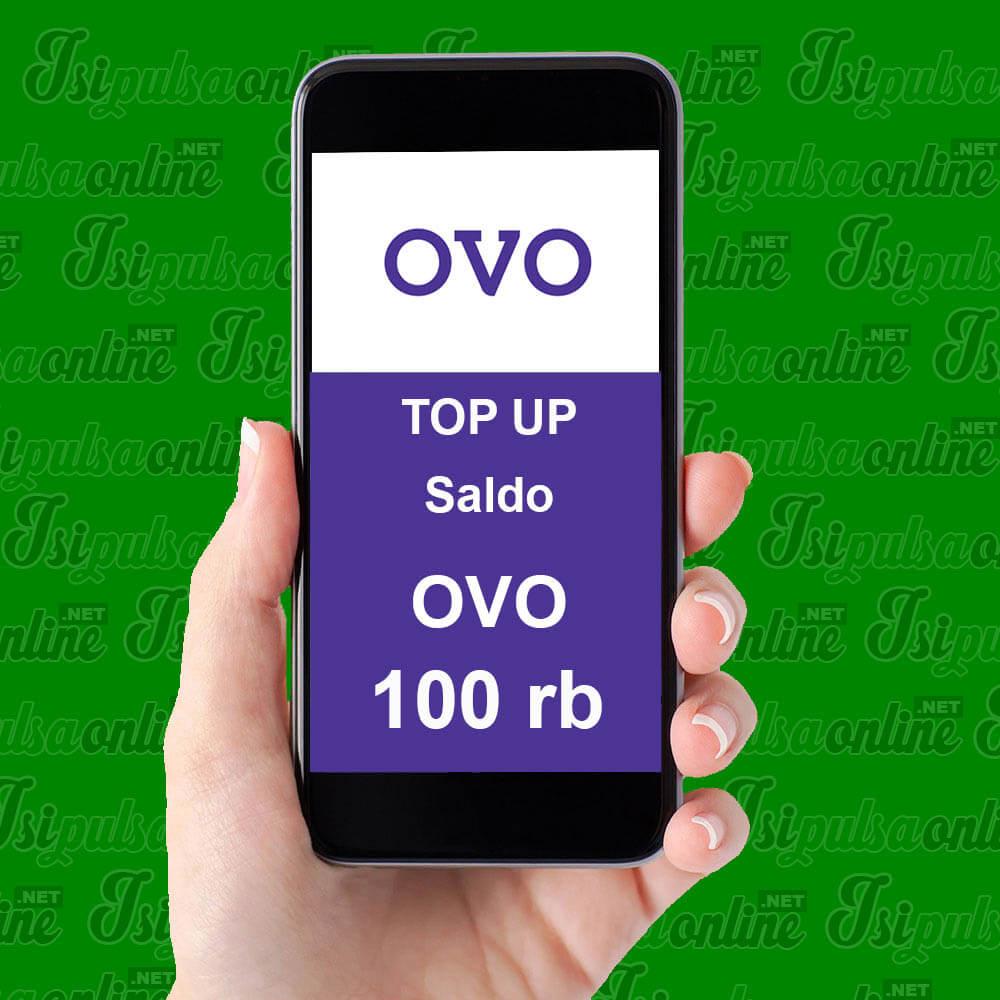 EMONEY TOPUP OVO - SALDO OVO 100K