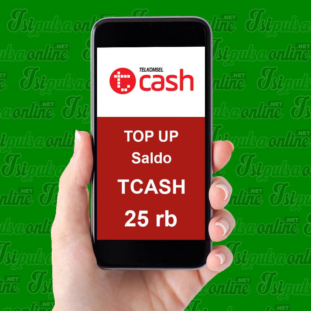 EMONEY TOPUP TCASH - ISI SALDO TCASH 25K