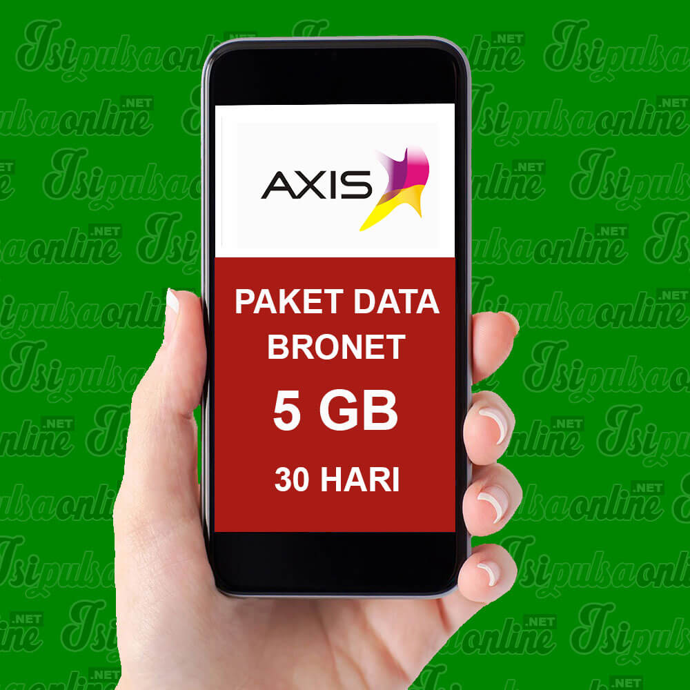 Paket Internet Axis Data - Bronet 5GB 24Jam 30hr