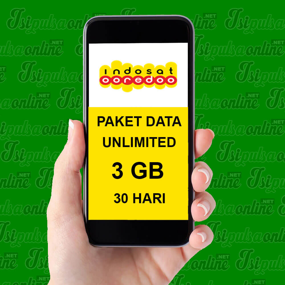 Paket Internet Indosat Data - Unlimted APK + SMS Sesama + 3GB 30HR