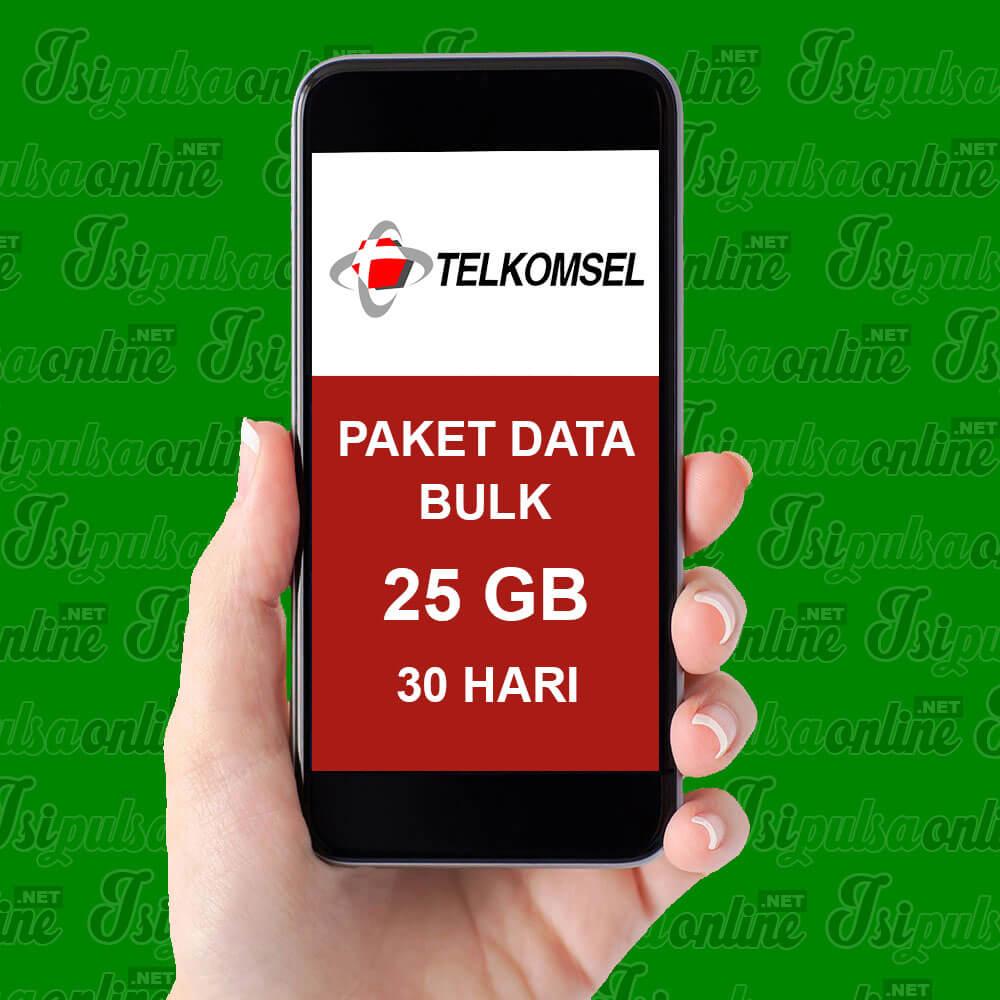 Paket Internet Telkomsel Data Bulk - 23GB+2GB VideoMax+100Mnt tlp+200Sms 30HR