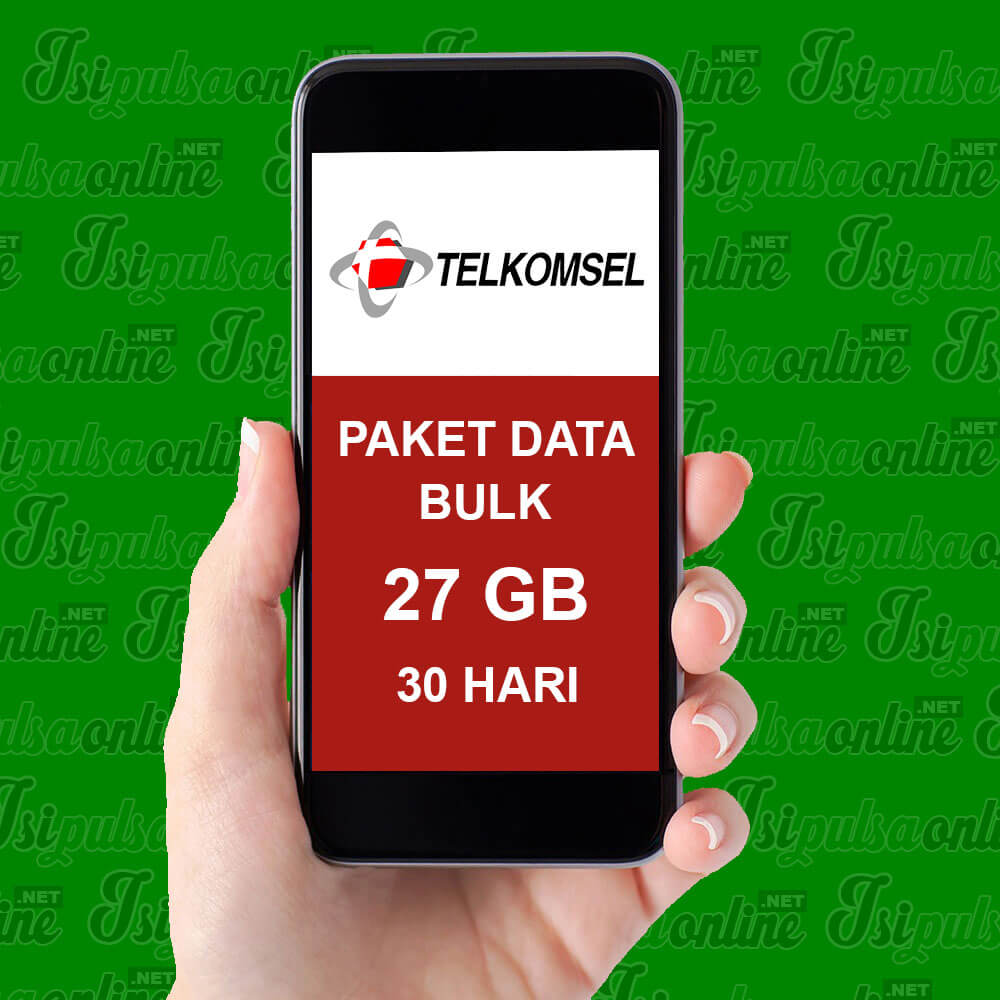 Paket Internet Telkomsel Data Bulk - 25GB FLASH (3G 4G) + 2GB YOUTUBE 30HR