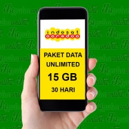 Unlimted APK + SMS&Telp Sesama + 15GB 30HR