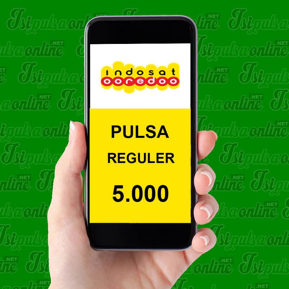 Pulsa Reguler Indosat - Pulsa 5rb