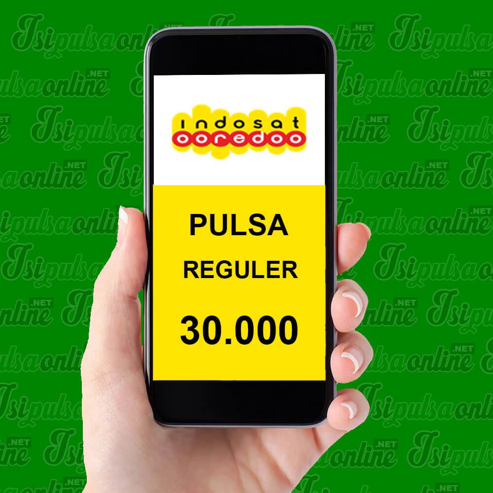 Pulsa Reguler Indosat - Pulsa 30rb