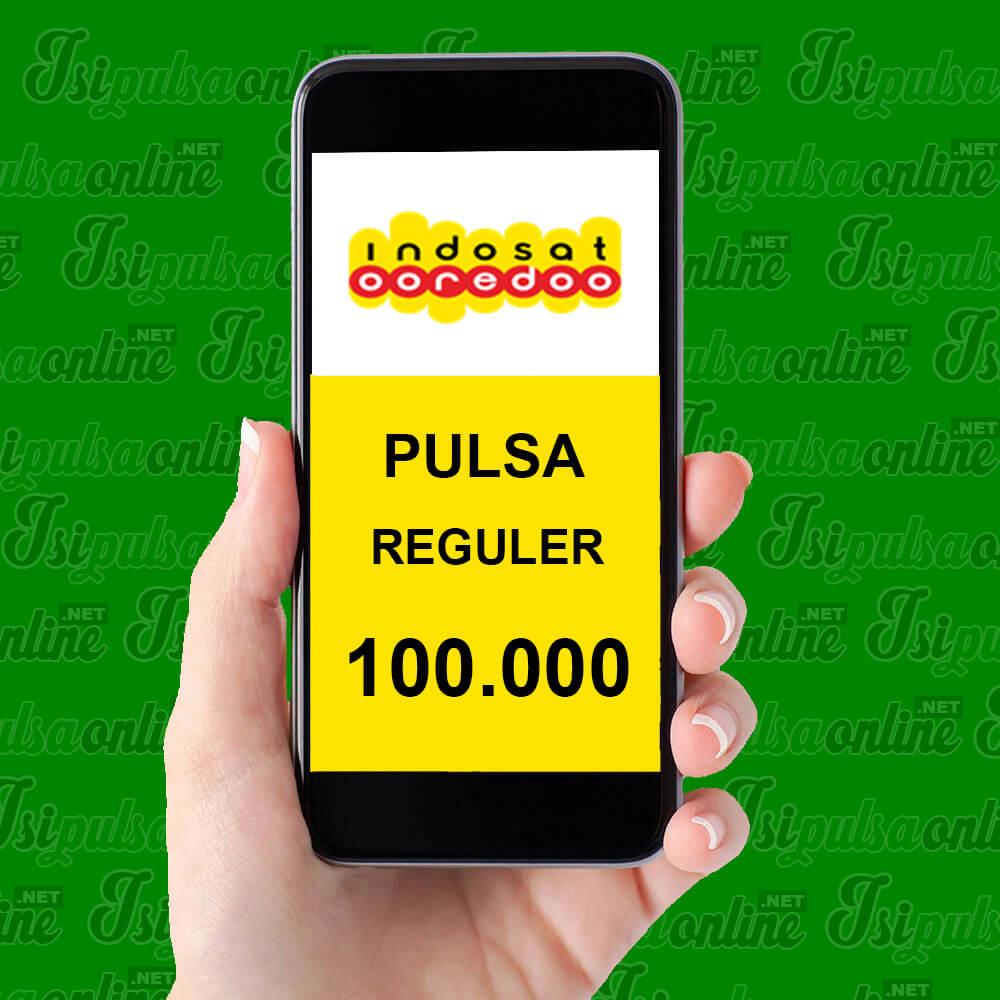 Pulsa Reguler Indosat - Pulsa 100rb