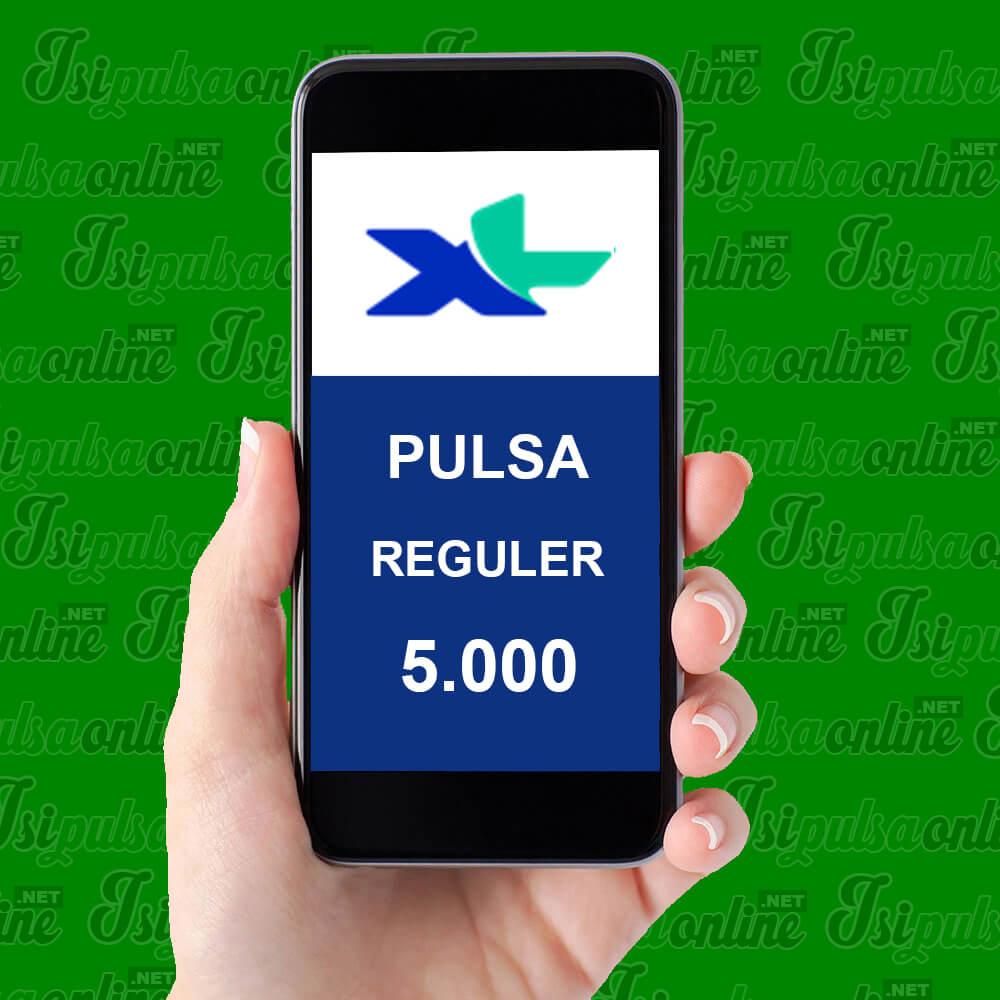 Pulsa Reguler XL - Pulsa 5rb