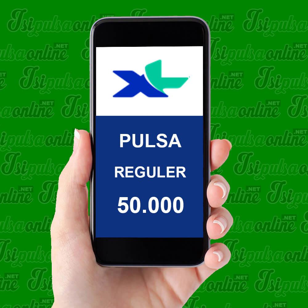 Pulsa Reguler XL - Pulsa 50rb