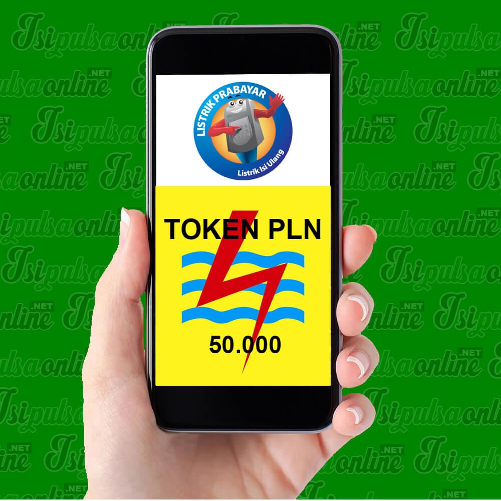 Token PLN PLN Prabayar - PLN 50.000