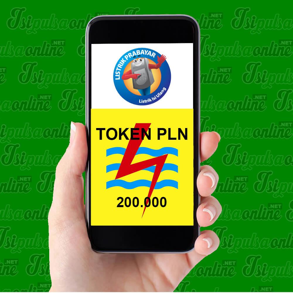 Token PLN PLN Prabayar - PLN 200.000