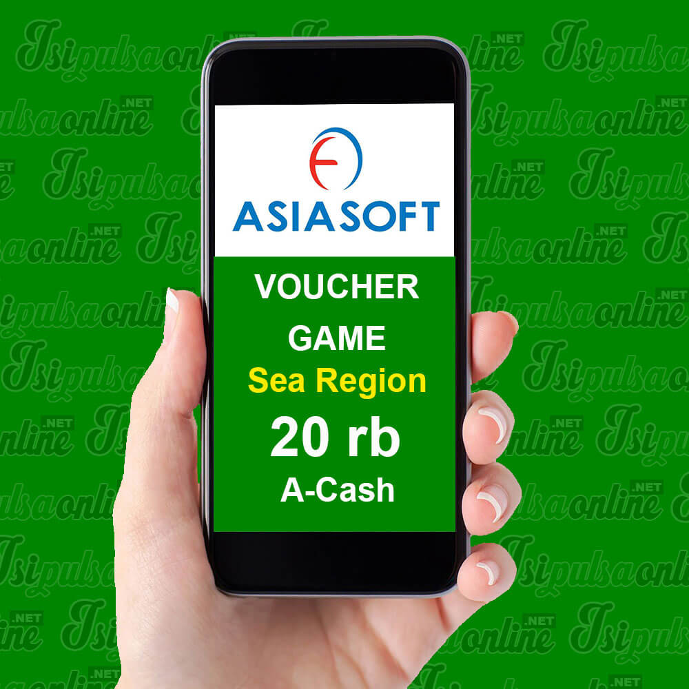 Voucher Game Asiasoft Sea Region - A-Cash 20rb