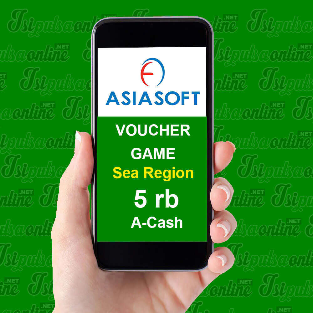 Voucher Game Asiasoft Sea Region - A-Cash 5rb