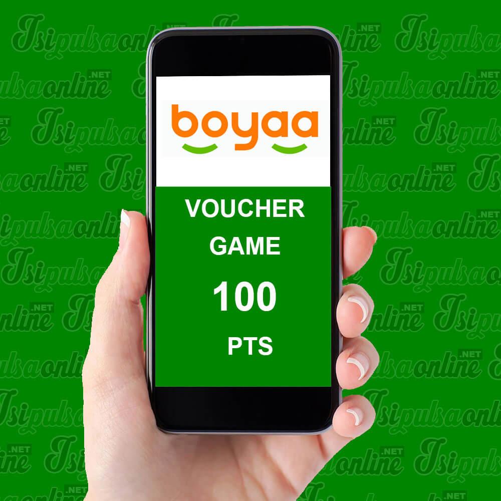 Voucher Game Boyaa Card - Boyaa Bycard 100pts