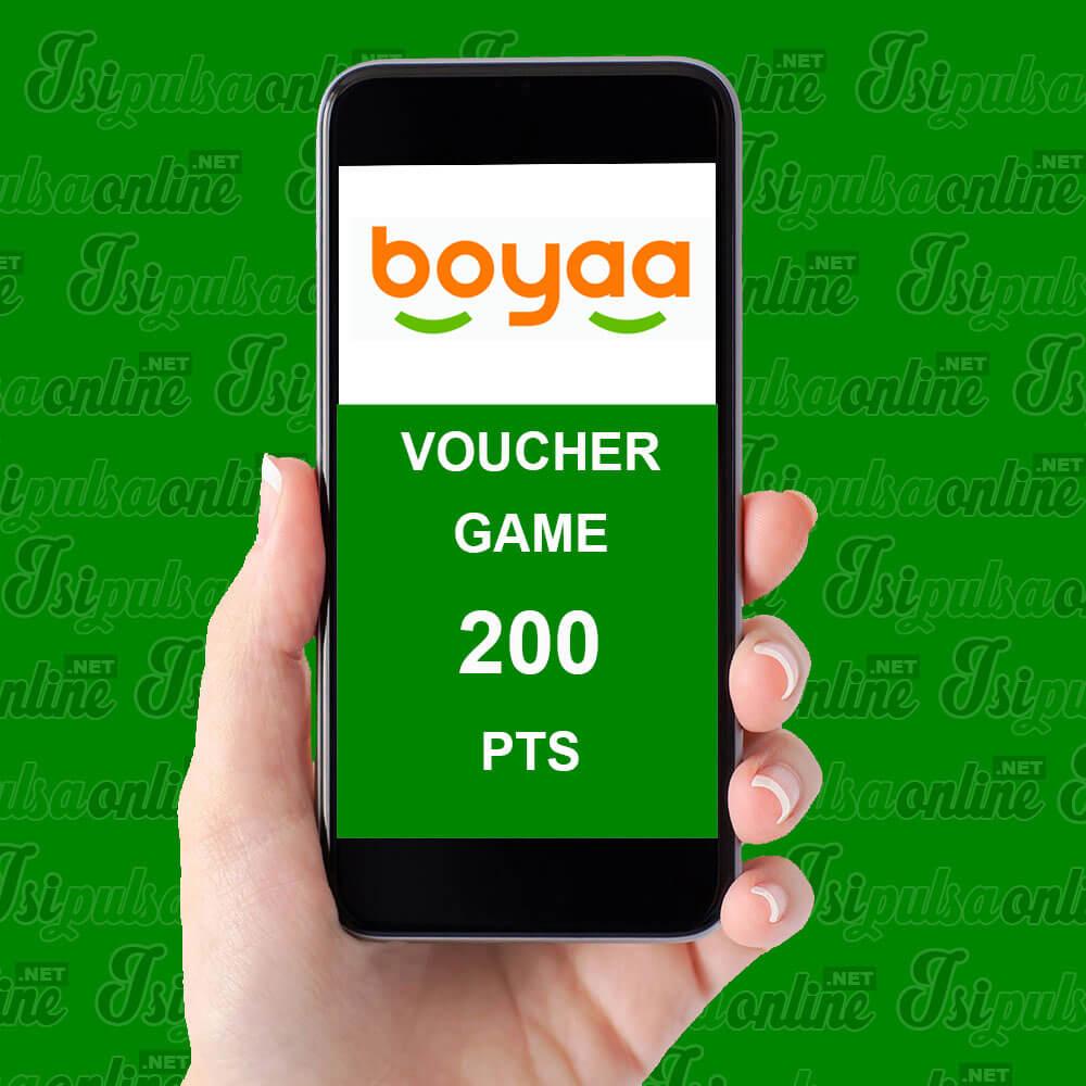 Voucher Game Boyaa Card - Boyaa Bycard 200pts