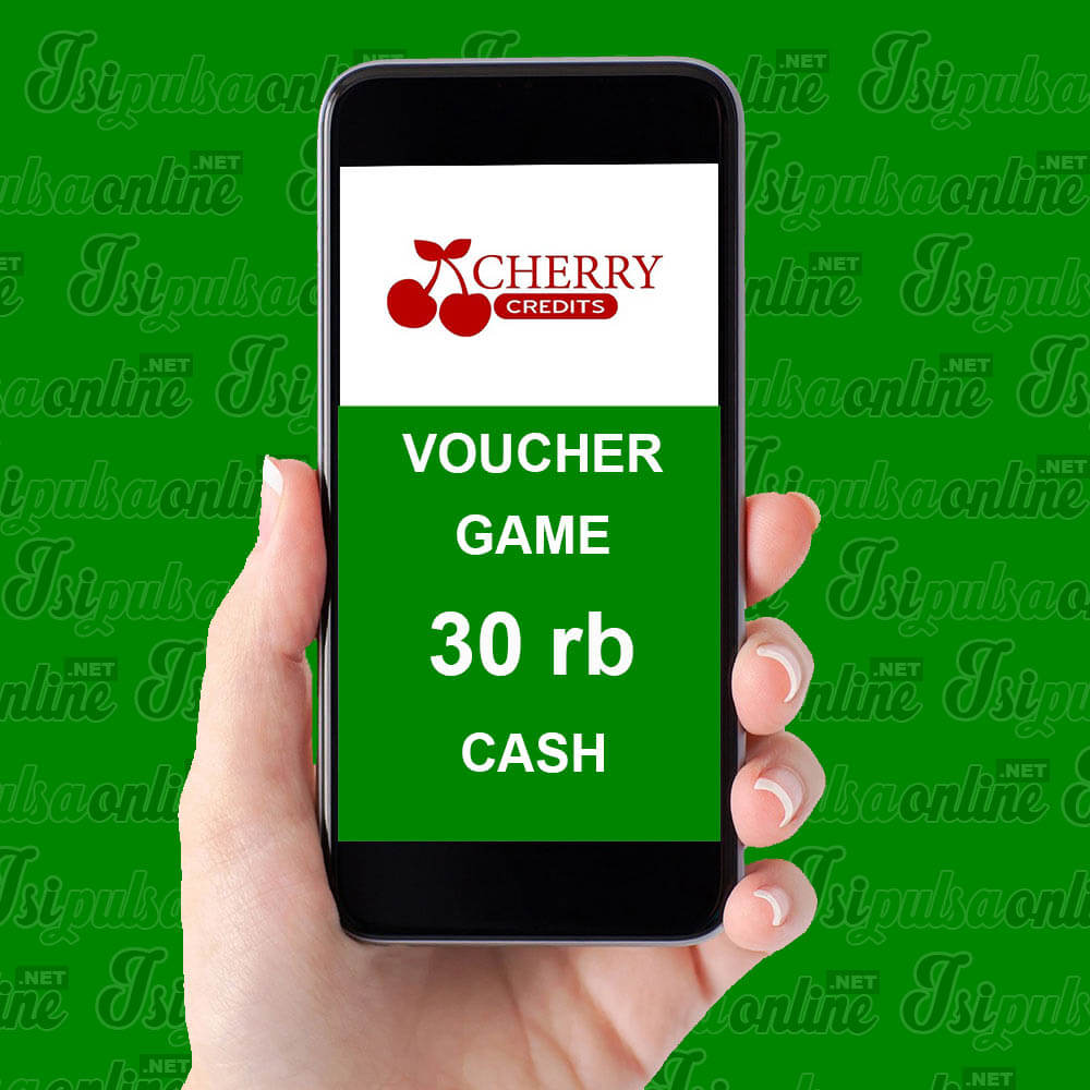 Voucher Game Cherry - Cherry Credits 30rb Cash