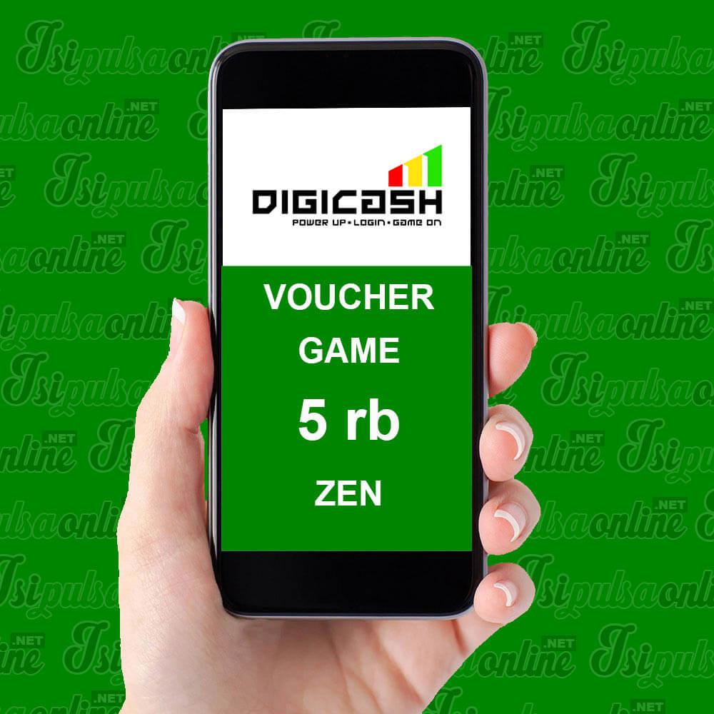 Voucher Game DigiCash - 5rb Zen
