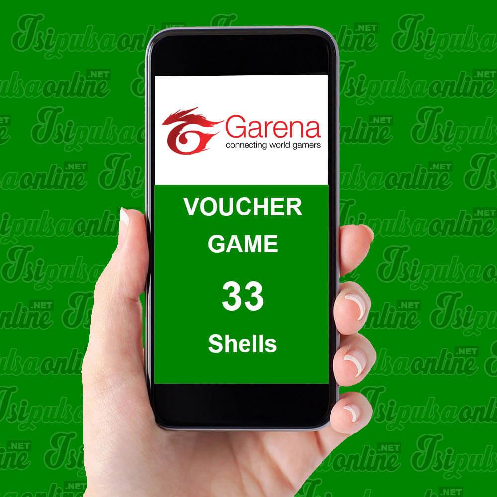 Voucher Game Garena - Garena 33 Shell / 1.000 Cash