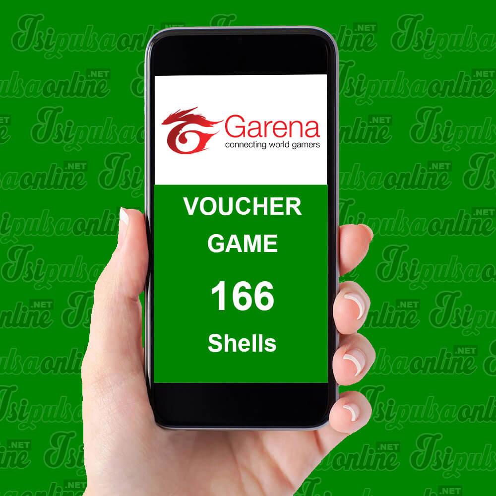 Voucher Game Garena - Garena166 Shell / 5.000 Cash