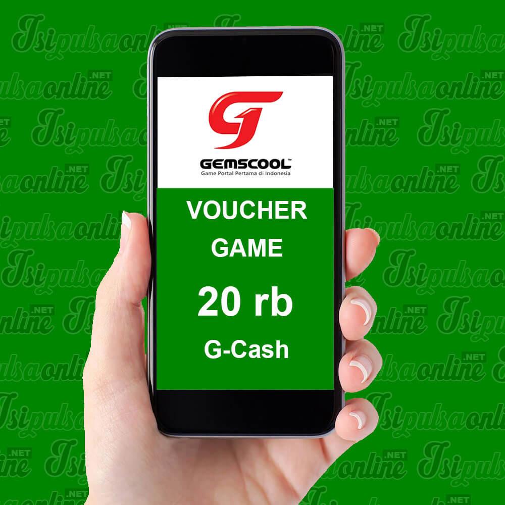 Voucher Game Gemscool - 20rb G-Cash