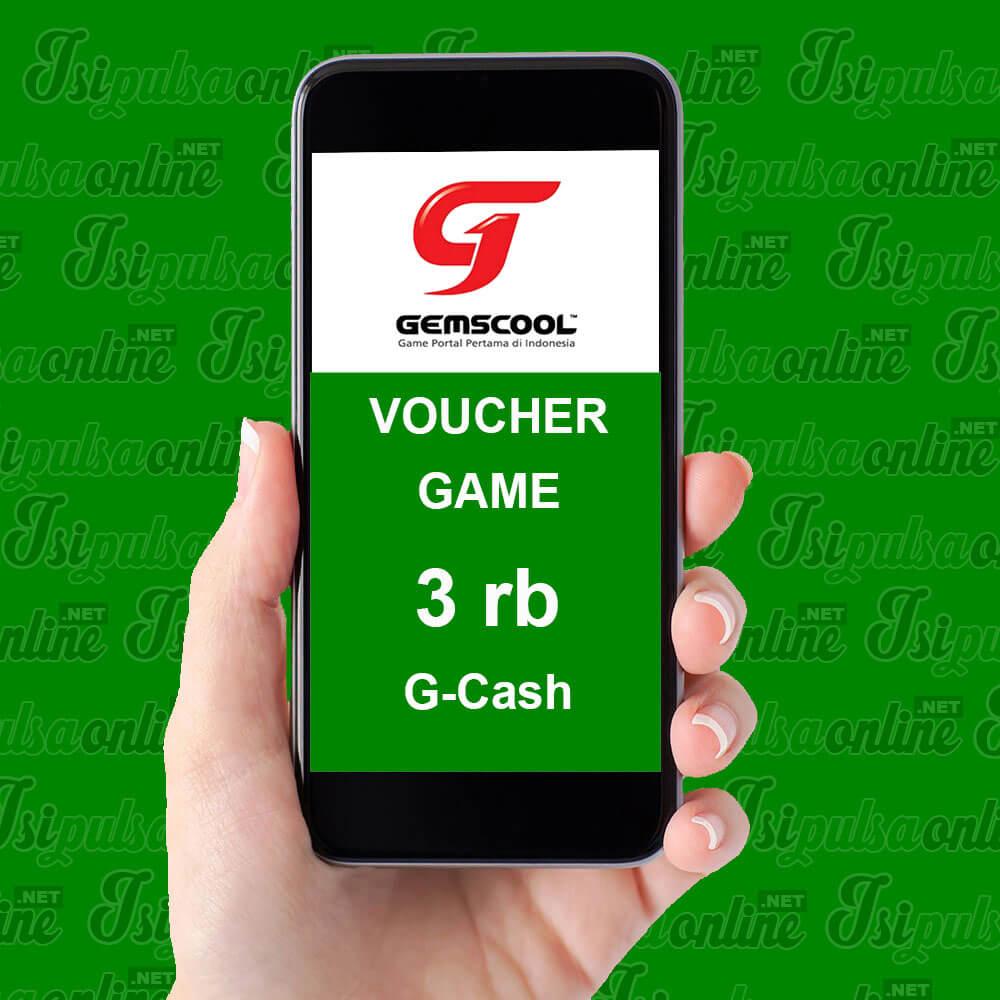 Voucher Game Gemscool - 3rb G-Cash