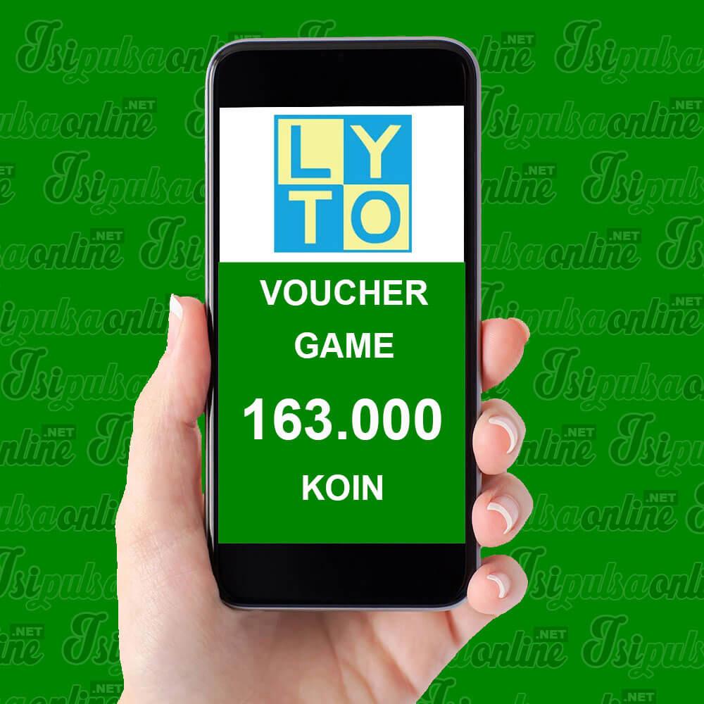Voucher Game Lyto - 163.000 Koin