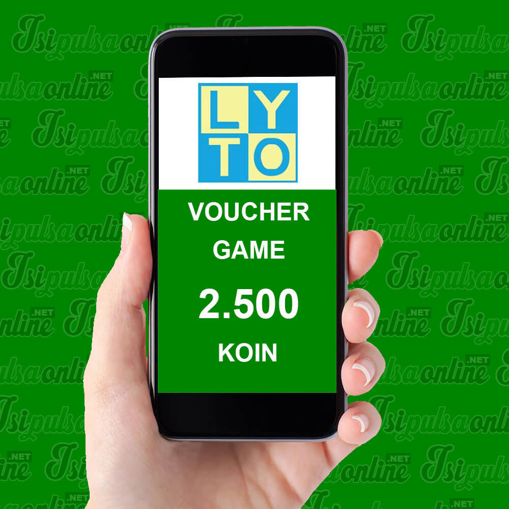Voucher Game Lyto - 2.500 Koin