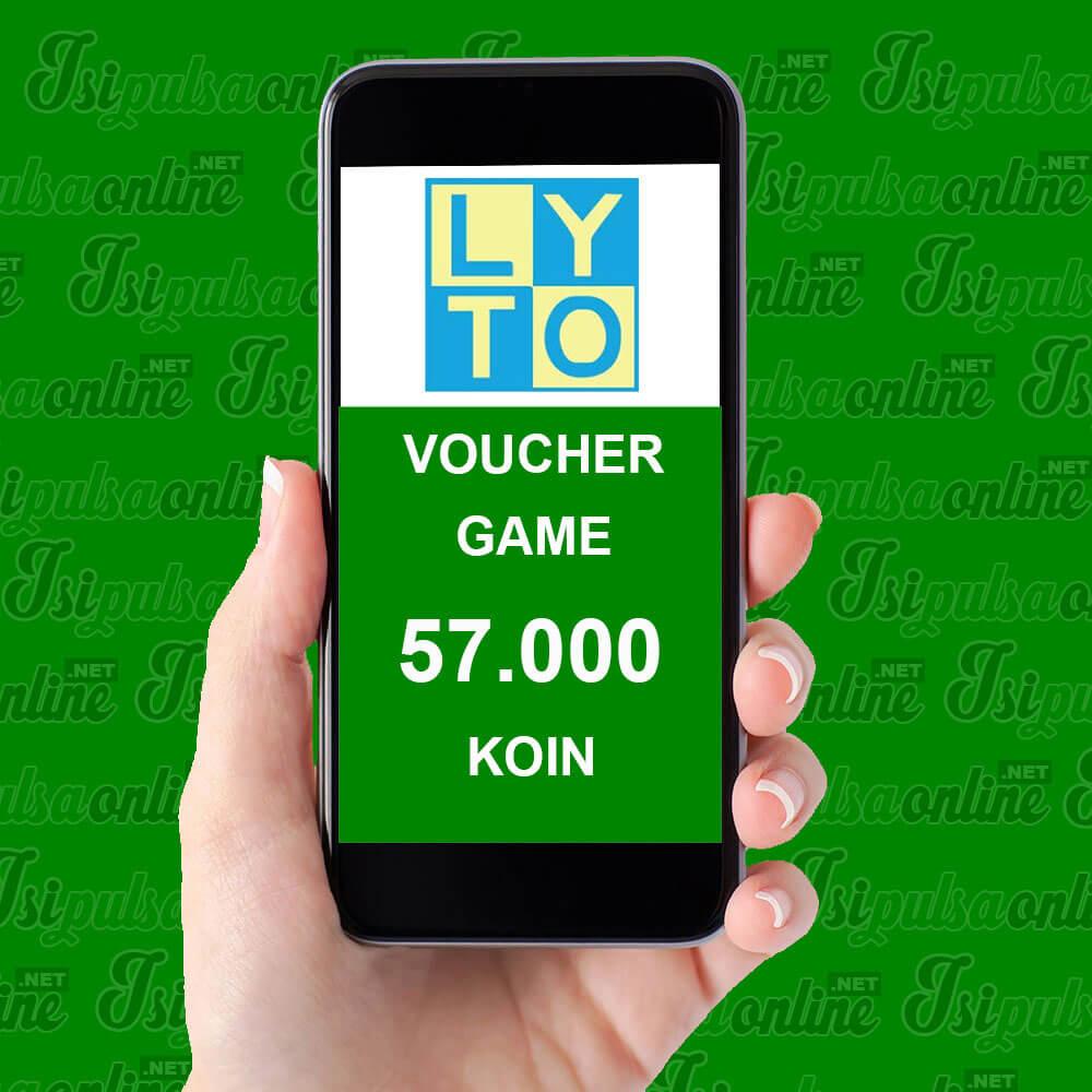 Voucher Game Lyto - 57.000 Koin