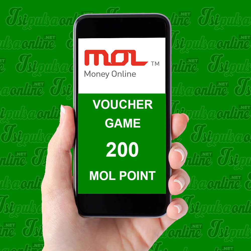 Voucher Game MOL Point - 200 MOL Point