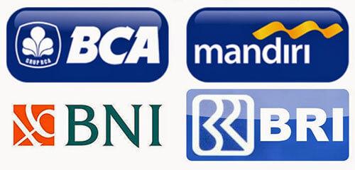 Hasil gambar untuk logo bank bri bca bni mandiri